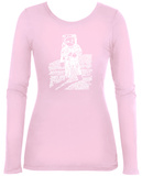 Women's Long Sleeve: Astronaut T-Shirt