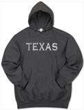 Hoodie: Texas Cities Pullover Hoodie