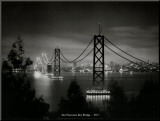 サンフランシスコ・ベイ・ブリッジ, カリフォルニア州1935 パネルプリント