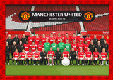 Manchester United-Team 2011/2012 Prints