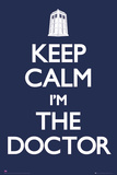 Doctor Who-Keep Calm Julisteet