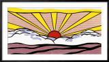 Lever du soleil, vers 1965 Art par Roy Lichtenstein