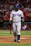 2011 World Series Game 7 - Rangers v Cardinals, St Louis, MO - October 28: Mike Napoli Photographic Print by Ezra Shaw