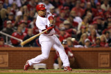 2011 World Series Game 7 - Rangers v Cardinals, St Louis, MO - October 28: Rafael Furcal Photographic Print by Jamie Squire