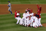 2011 World Series Game 7 - Rangers v Cardinals, St Louis, MO - October 28: David Murphy Photographic Print by Doug Pensinger