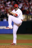 2011 World Series Game 7 - Rangers v Cardinals, St Louis, MO - October 28: Lance Lynn Photographic Print by Ezra Shaw