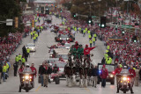 St Louis Cardinals Victory Parade, St. Louis, MO - October 30: Tony La Russa Photographie par Whitney Curtis