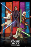 Clone Wars-Colours Poster