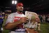 2011 World Series Game 7 - Rangers v Cardinals, St Louis, MO - October 28: Albert Pujols Photographic Print by Ezra Shaw