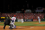 BESTPIX 2011 World Series Game 7 - Rangers v Cardinals, St Louis, MO - October 28: David Freese Photographie par Ezra Shaw
