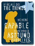 Astound ourselves Wood Sign by Ginger Oliphant
