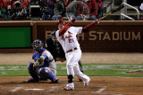 2011 World Series Game 7 - Rangers v Cardinals, St Louis, MO - October 28: Allen Craig Photographic Print by  Rob Carr