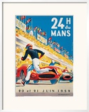Le Mans 20 et 21 Juin 1959 Posters by Beligond 