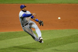 2011 World Series Game 7 - Rangers v Cardinals, St Louis, MO - October 28: Elvis Andrus Photographic Print by Doug Pensinger