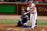 2011 World Series Game 7 - Rangers v Cardinals, St Louis, MO - October 28: David Freese Photographic Print by Rob Carr 