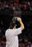 2011 World Series Game 7 - Rangers v Cardinals, St Louis, MO - October 28: Lance Berkman Photographic Print by Ezra Shaw