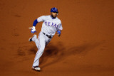 2011 World Series Game 7 - Rangers v Cardinals, St Louis, MO - October 28: Elvis Andrus Photographic Print by Dilip Vishwanat