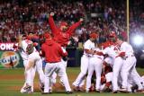 2011 World Series Game 7 - Rangers v Cardinals, St Louis, MO - October 28: Chris Carpenter Photographic Print by Ezra Shaw