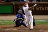 2011 World Series Game 7 - Rangers v Cardinals, St Louis, MO - October 28: Albert Pujols Photographic Print by  Rob Carr
