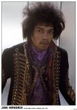 Jimi Hendrix-Hyde Park Hotel 1967 Poster