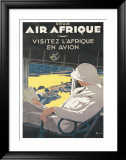 Air Afrique Posters by A. Roquin