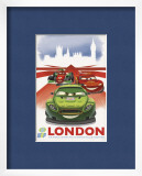 Cars 2: London Prints