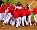 The St. Louis Cardinals Celebrate Winning Game 6 of the 2011 MLB World Series (32) Photographie