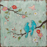 Love Birds I Print by Katy Frances