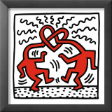 Untitled, c.1989 Print by Keith Haring