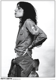 Patti Smith - Amsterdam 1976 Kunstdruck