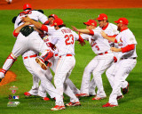 The St. Louis Cardinals Celebrate Winning World Series in Game 7 of the 2011 World Series  3 Photographie