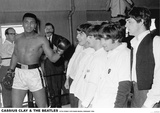 Cassius Clay & Beatles-Miami 1964 Lmina