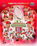 St. Louis Cardinals 2011 World Series Champions Composite Fotografía