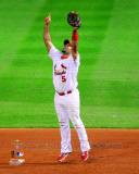 Albert Pujols Celebrates Winning Game 7 of the 2011 MLB World Series (#39) Photo