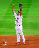 Albert Pujols Celebrates Winning Game 7 of the 2011 MLB World Series (39) Photo