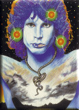 Jim Morrison -Snake Painting Posters