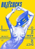 Buzzcocks - Orgasmenarkoman, på engelsk Plakat