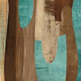 Aqua Turns II Posters by K. Baker