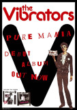 Vibrators-Pure Mania Poster