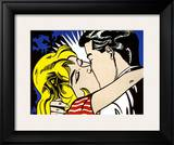 Kiss II, c.1962 Prints by Roy Lichtenstein
