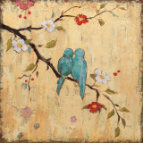 Love Birds II Print by Katy Frances