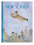 The New Yorker Cover - February 15, 1964 Premium Giclee Print by William Steig