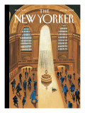 The New Yorker Cover - January 28, 2008 Premium Giclee Print by Mark Ulriksen
