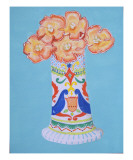 Betty Boop in Talavera Premium Giclee Print by Laura Pascal