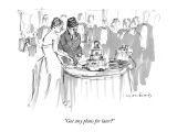 """Got any plans for later?"" - New Yorker Cartoon Premium Giclee Print by Michael Crawford"