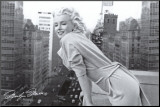 Marilyn Monroe - Balcony Mounted Print