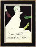 Dior, 1950 Posters by Pierre-Laurent Brenot
