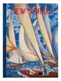 The New Yorker Cover - July 9, 1949 Regular Giclee Print by Garrett Price