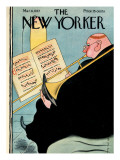 The New Yorker Cover - March 6, 1937 Premium Giclee Print by Rea Irvin