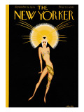 The New Yorker Cover - September 19, 1925 Premium Giclee Print by Max Ree